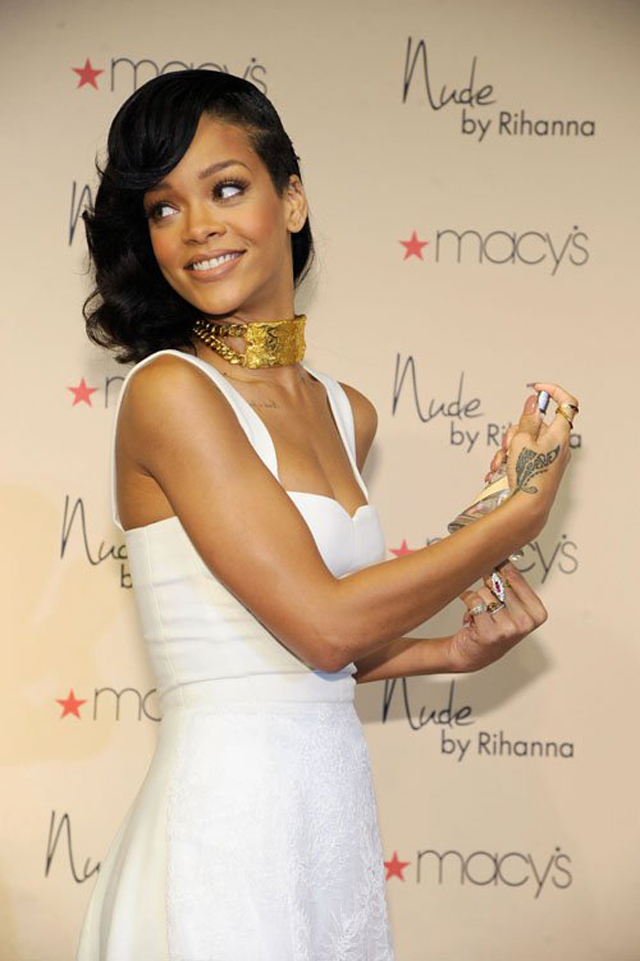 nude by rihanna styled by nini nguyen miami london with rihanna x ...
