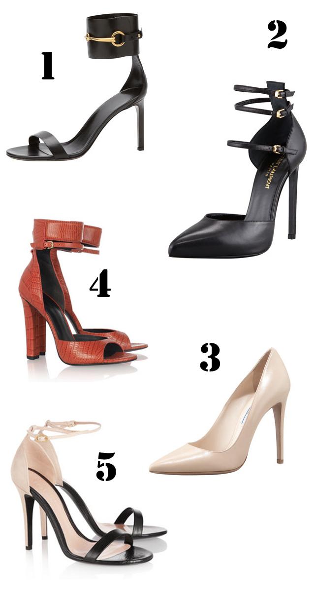 shoesspringsaintlaurent  Alexander Wang Gucci