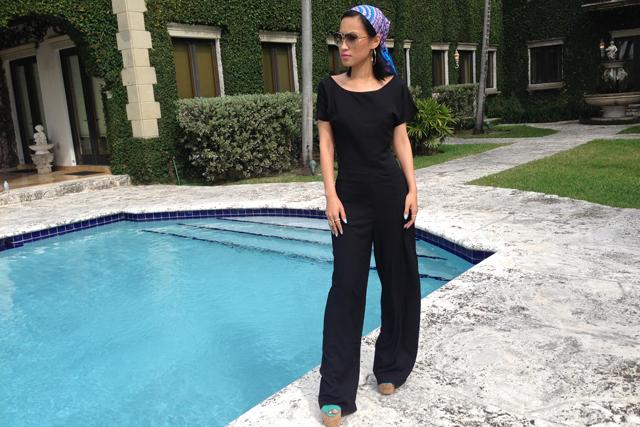 Nini Nguyen Miami Celine sunglasses