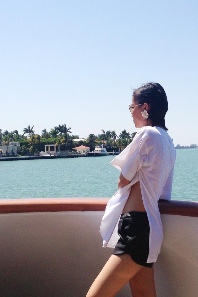 Nini Nguyen Miami Rihanna tee shirt