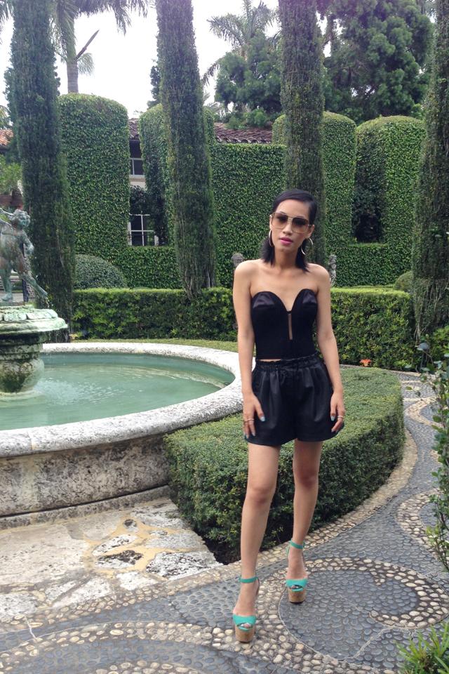 Nini Nguyen Miami YSL corset