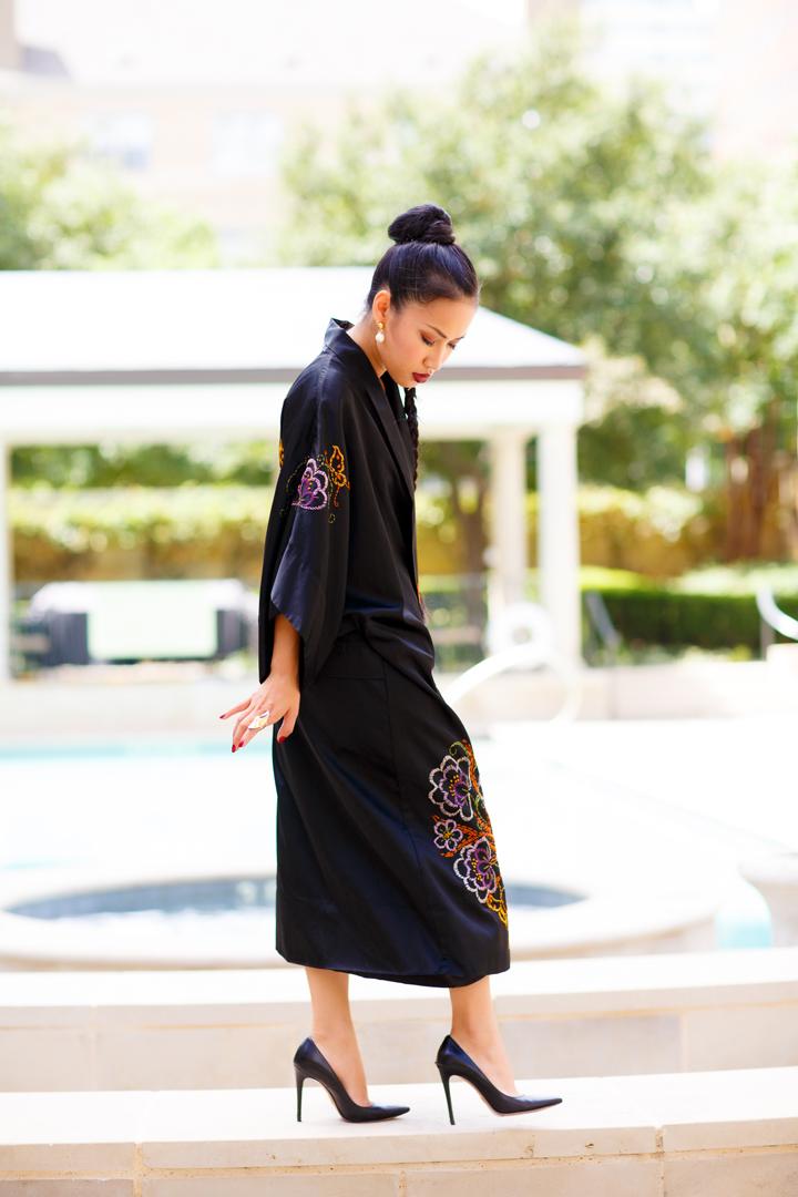 Nini Nguyen vintage kimono 3