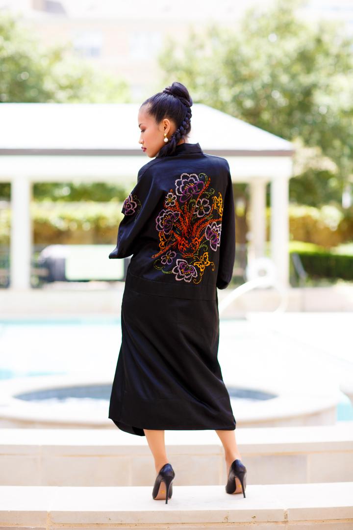 Nini Nguyen vintage kimono