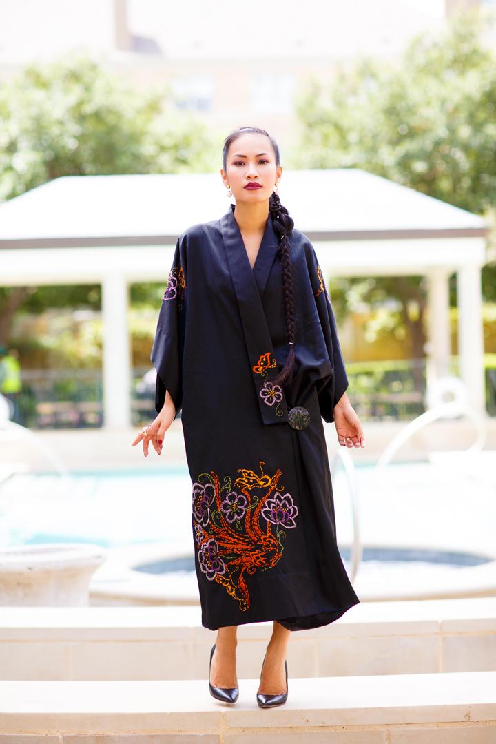 Nini Nguyen vintage kimono1