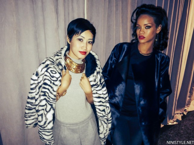 Nini and Rihanna