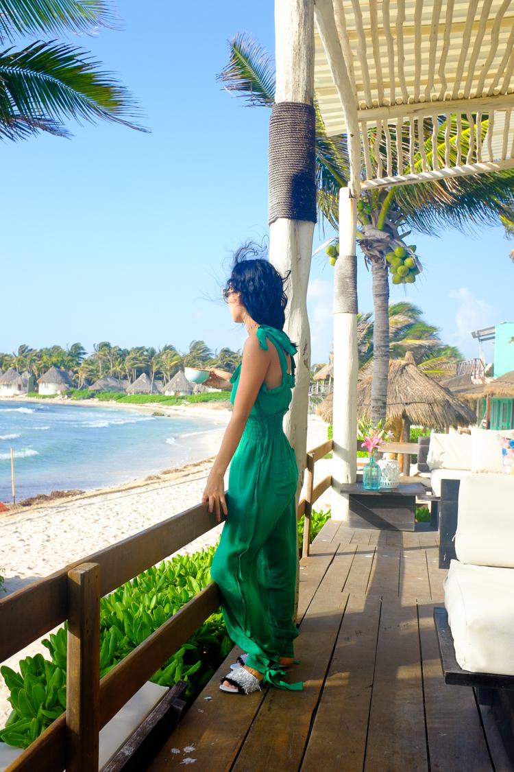Sonia rykiel green cotton jumpsuits
